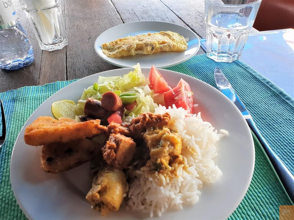 モルディブ朝食
