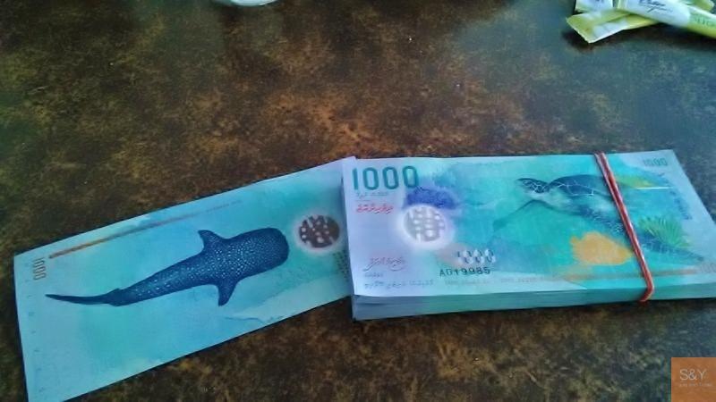 モルディブ通貨
