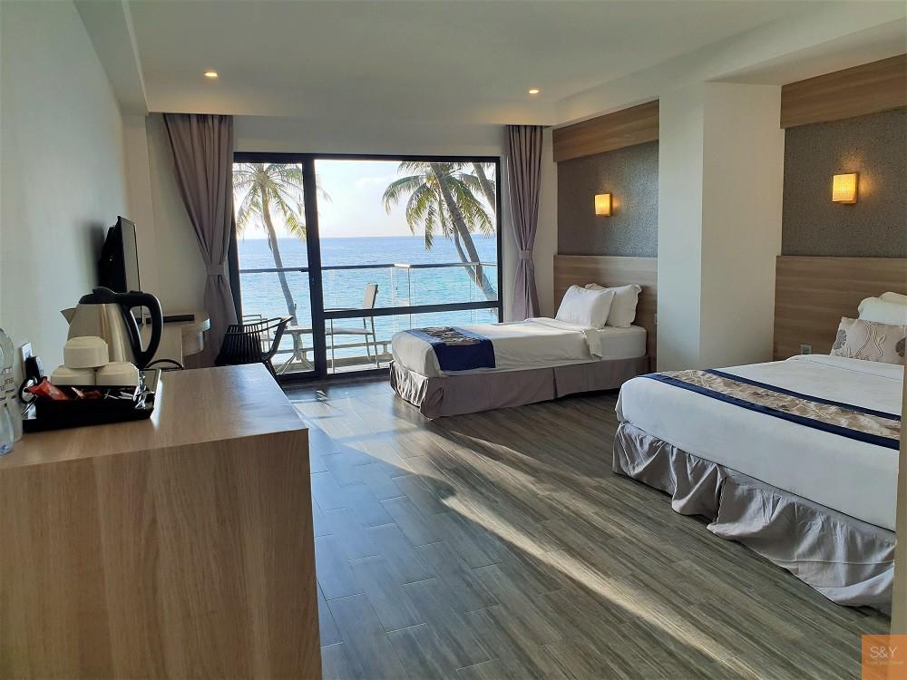 モルディブホテル